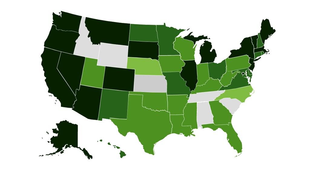 Cannabis Legality Map